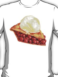Cherry Pie Pattern T-Shirt