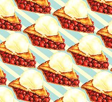 Cherry Pie Pattern by Kelly  Gilleran
