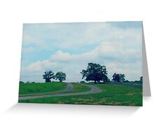 Backroads of Fayetteville Greeting Card