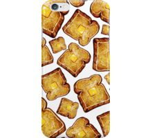 Buttered toast iPhone Case/Skin