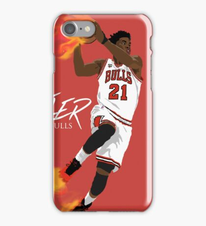"Jimmy ""Flames"" Butler iPhone Case/Skin"