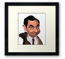 Atkinson aka Mr. Bean Framed Print