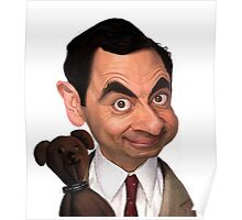 Atkinson aka Mr. Bean Poster