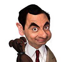 Atkinson aka Mr. Bean Photographic Print