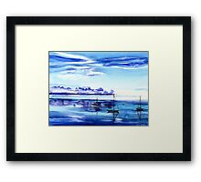 Light N Water Framed Print