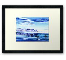 Light N Water Framed Print