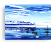 Light N Water Canvas Print