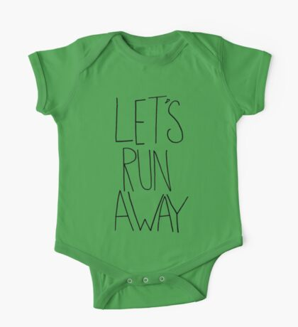 Let's Run Away VIII One Piece - Short Sleeve