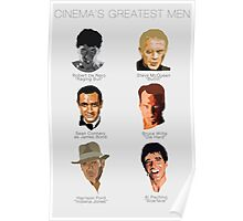 Cinema's Greatest Men Poster