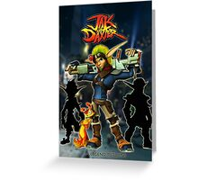 Jak & Daxter Trilogy  Greeting Card
