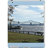 Sleepy Hollow Lighthouse on the Hudson River, NY iPad Case/Skin