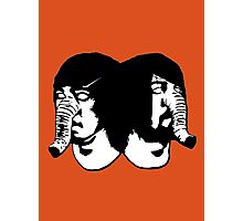 Death from Above 1979 Heads Photographic Print