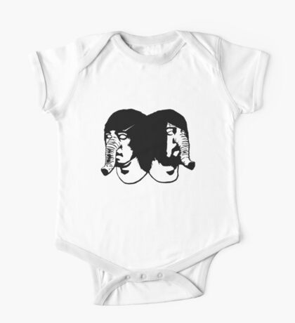 Death from Above 1979 Heads One Piece - Short Sleeve