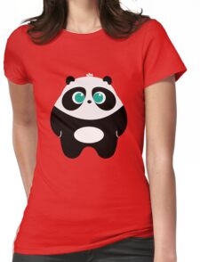 BUIBUI THE FAT PANDA Womens Fitted T-Shirt
