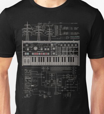 Microkorg Industrial Unisex T-Shirt