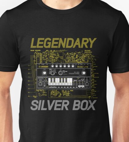 Legendary Silver Box / TB-303 Unisex T-Shirt