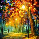 Single Night — Buy Now Link - www.etsy.com/listing/210030186 by Leonid  Afremov