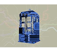 Tech Tardis Photographic Print