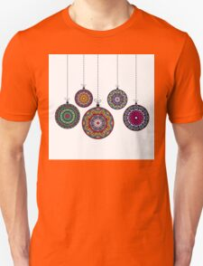 Christmas Mandala Bolls. Merry Christmas and Happy New Year T-Shirt