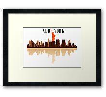 New York City Art Framed Print