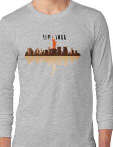 New York City Art Long Sleeve T-Shirt
