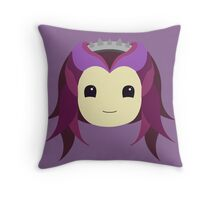 Raven Queen Throw Pillow