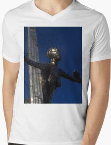 Single Lady Mens V-Neck T-Shirt