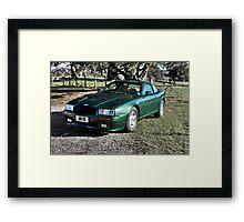 Aston Martin Virage prototype 2304 Framed Print