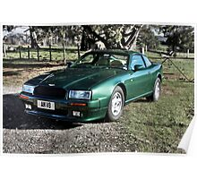 Aston Martin Virage prototype 2304 Poster