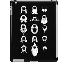 The Bearded Company White and Black iPad Case/Skin