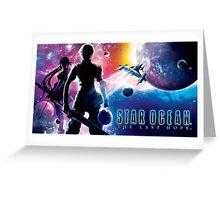Star Ocean - Last Hope Greeting Card