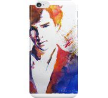 Sherlock - Splash of Colour iPhone Case/Skin