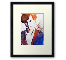 Sherlock - Splash of Colour Framed Print