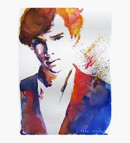 Sherlock - Splash of Colour Poster