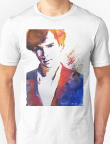 Sherlock - Splash of Colour T-Shirt