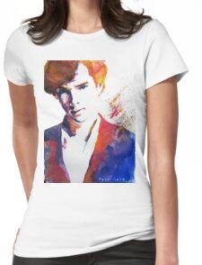 Sherlock - Splash of Colour Womens Fitted T-Shirt