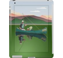 Ipad: Canoe Fishing iPad Case/Skin