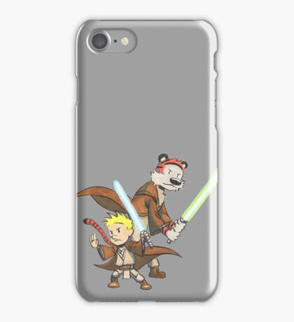 Calvin and Hobbes Star Wars Pals iPhone Case/Skin