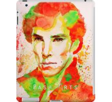 Sherlock - The Game Is Never Over iPad Case/Skin