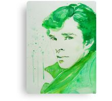Emerald - Sherlock Canvas Print