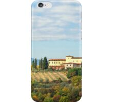 Typical Tuscan hill iPhone Case/Skin