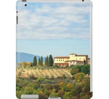 Typical Tuscan hill iPad Case/Skin