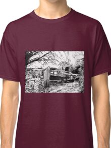 Vintage Car In Drive Classic T-Shirt