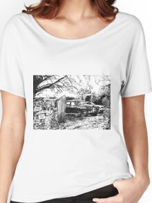 Vintage Car In Drive Women's Relaxed Fit T-Shirt