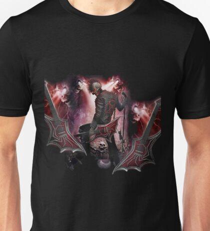 skull rock devil Unisex T-Shirt
