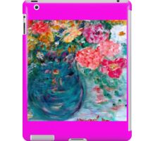 Romance Flowers Designer Decor & Gifts by Marie-Jose Pappas iPad Case/Skin