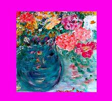 Romance Flowers Designer Decor & Gifts by Marie-Jose Pappas by innocentorigina