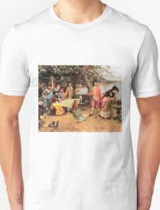 The Toast by Auguste Emile Pinchart T-Shirt