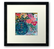 Romance Flowers Designer Art Decor & Gifts - Pink Framed Print