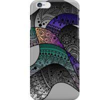 paisley waves iPhone Case/Skin